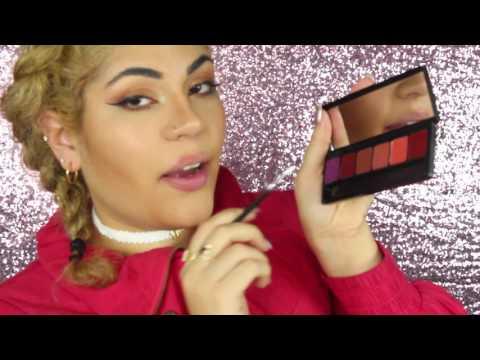 Review | Iris beilin + ELF Cosmetics - mis amores lip palette- SWATCH VIDEO thumbnail