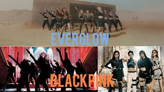 """tân binh EVERGLOW bị netizen nhận xét nhạc na ná... """"Kill This Love"""" (BLACKPINK)?"""