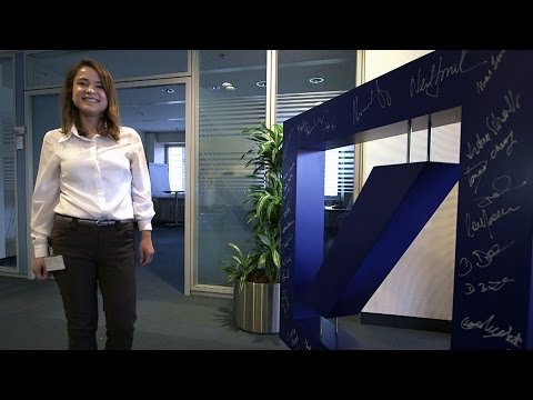 What I did next - Supporting investments at Deutsche Bank