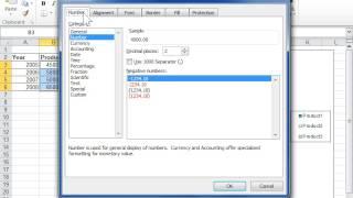 Excel 2010 Reset a Number Format