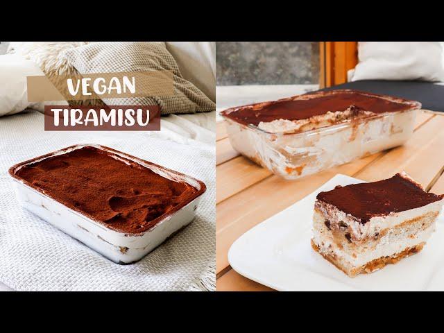 Bestes veganes Tiramisu Rezept | Einfach und schnell selber machen