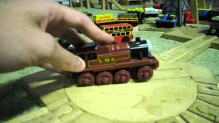 Thomas Wooden Railway Review: Emily, Harvey, Salty, Arthur, Murdoch, Spencer, and Fergus