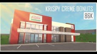 ROBLOX  Willkommen bei bloxburg  Krispy Kreme 86k 