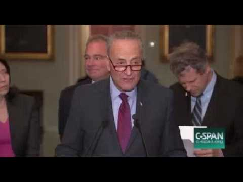 Schumer Gorsuch Is Playing Dodge Ball WIth The Senate Judiciary Committee