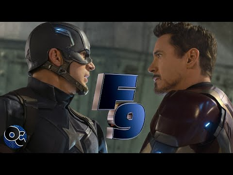 Captain America Civil War – (Fast And Furious 9 TV Spot Super Bowl Style)