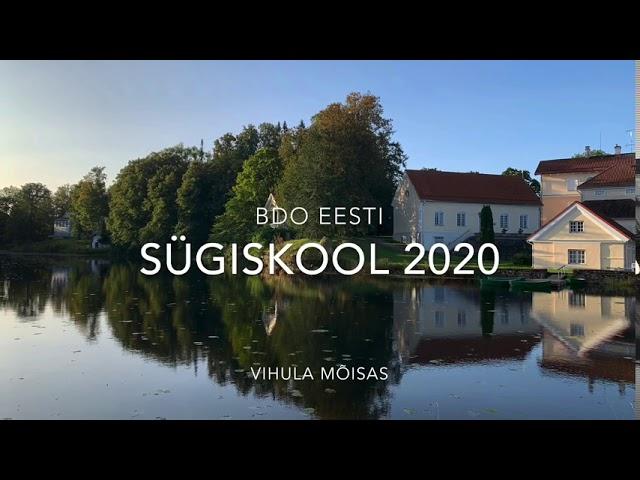 BDO sügiskool 2020