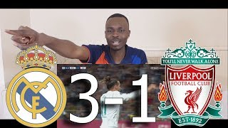 Barcelona Fan Reacts To ● Real Madrid Destroying Liverpool In The Final ● 3-1