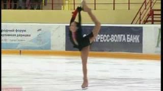 Elizaveta TUKTAMYSHEVA 2011 LP Russian Nationals