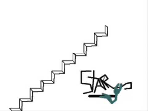 Stickman Stair Fallvery Old Youtube
