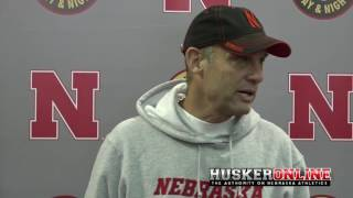 Mike Riley Recaps Day of Spring Practice 3/4/17
