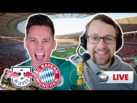 Pokalfinale: Leipzig  gegen Bayern, Manu Thiele und Rasenfunk kommentieren   Sportschau
