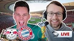 Pokalfinale: Leipzig  gegen Bayern, Manu Thiele und Rasenfunk kommentieren | Sportschau