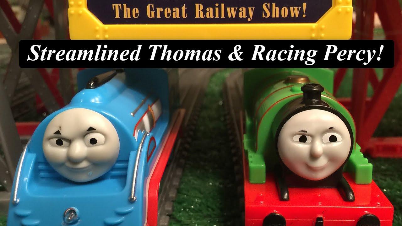 trackmaster railway race set instructions