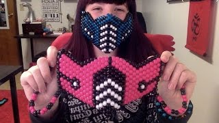 How to make a Kandi Sub Zero Mask (Tutorial)