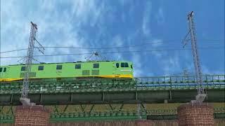 新VRM3★リバシループ貨物レイアウト完成3ーEF5845青大将タキ3000