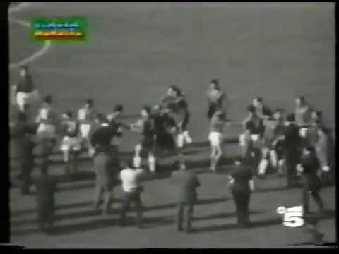ITALIA-Cile 0 a 2 del Mondiale 'Cile 1962' (telecronaca primo tempo)