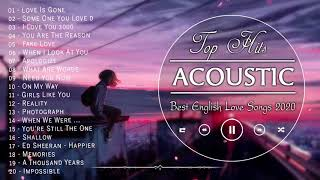 Best English Acoustic Love Songs 2020 # No Ads