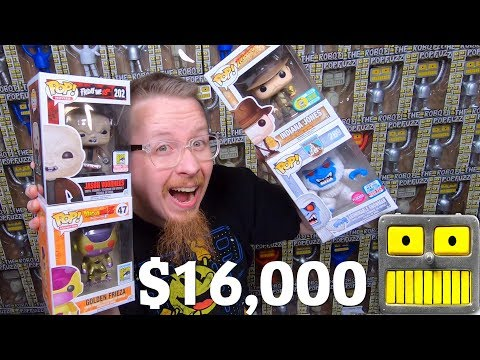 102 Funko Pops Worth $161 Each $16000 Funko Pop Collection Tour