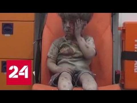 Постановочные кадры: боевики устроили охоту за жестоким фото раненого мальчика