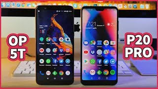 Huawei P20 Pro vs OnePlus 5T: QUALE SCEGLIERE?