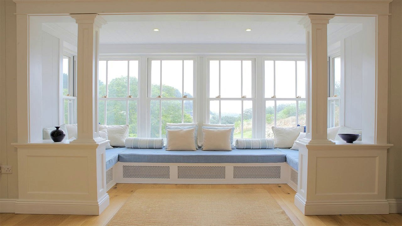 Modern Bay Windows Idea For Living Room Room Ideas Youtube