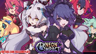 Neon Impact - Gameplay First Look Android,ios