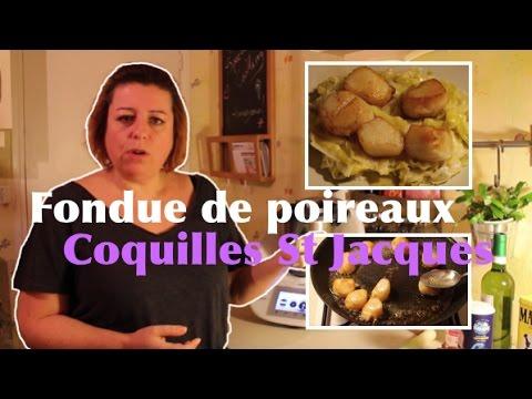 fondue-de-poireaux-et-coquilles-saint-jacques-au-thermomix