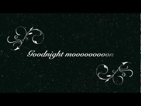 Go Radio-Goodnight Moon (Lyrics)