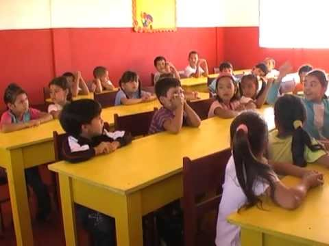 First day of class at Light Rays School Ita Paso Paraguay