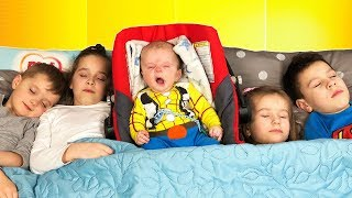 SLEEPING KIDS and BABY BOY Are You Sleeping Brother John Song for Kids Educational video