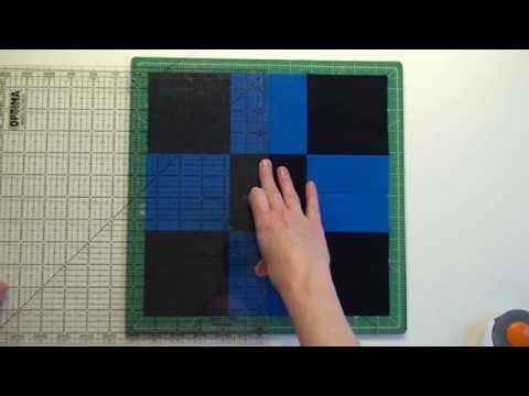 27. Piecing A Disappearing Nine Patch Quilt Block