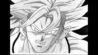 No.1286 HOW TO DRAW BROLY ブロリー