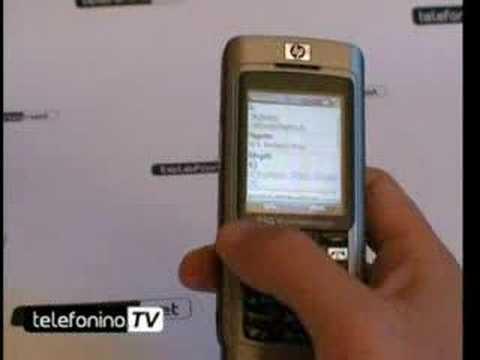 La videoprova del HP 514 voice messenger
