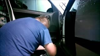 Ремонт стеклоподьёмников SKODA ROOMSTER - FABIA (2006 - 2009) разборка передних дверей(, 2015-01-17T18:18:15.000Z)