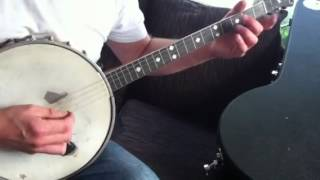 Harvest home on banjo, Irish Tenor Banjo