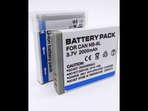 Халява! Бесплатные Аккумуляторы NB-6L! Battery Pack! Заявлено 2000mAh! Реально 670 mAh! FULL REFUND!