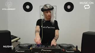 Nusha   Techno set   MUSIC: ON