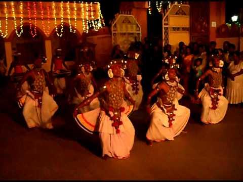 Feel SRI LANKA - Culture Express. KANDYAN  ''VES'' DANCE
