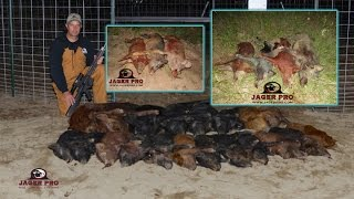Feral Hog Control Methods  | (23) 27/27 Hog Trapping with Integrated Wild Pig Control™ |  JAGER PRO™