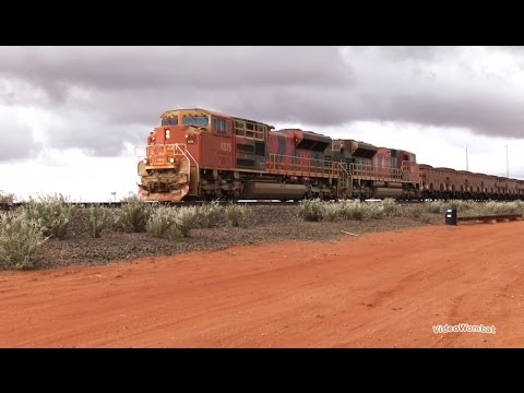 BHP Billiton Iron Ore Train