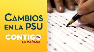 Cruch rechazó el cambio de fecha para rendir la PSU - Contigo en la Mañana