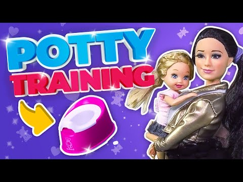 Barbie - Potty Training with the Twins | Ep.50