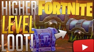 Fortnite: How To Get Higher Level Loot! ◄End Mission Chest Rewards► Get Better Loot For Missions!