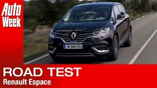 Renault Espace [2015] road test - English subtitled