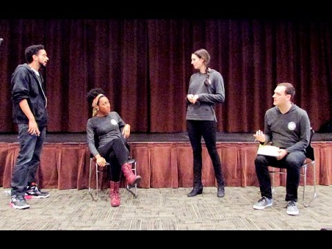 Social issue theater group engages students