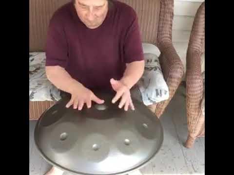 Handpan jamming at home | Customers Video | NovaPans Handpans
