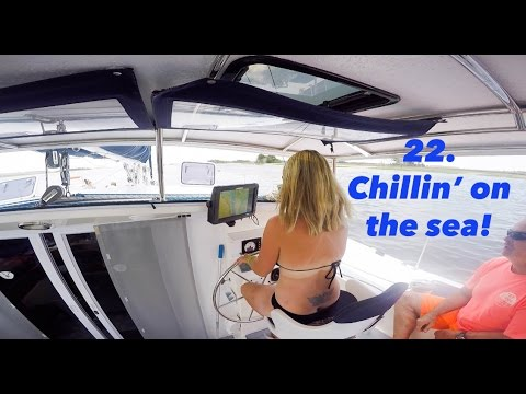 SAILING A ST FRANCIS 44 MK II OFFSHORE - Lazy Gecko VLOG 22