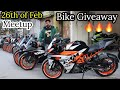 First Time On Youtube Bike Giveaway | Second Hand Bikes In Delhi | Meetup On 26th Wednesday