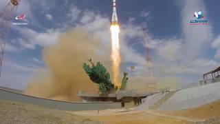 """Запуск ТПК """"Союз МС-16""""."""