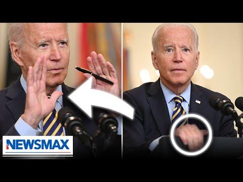 Body language expert reacts to Biden's Afghanistan presser | EXCLUSIVE